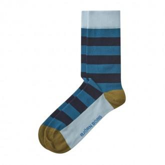 Stripe/Block socks